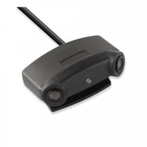 Czujnik ultradźwiękowy współpracuje z zestawami alarmowymi