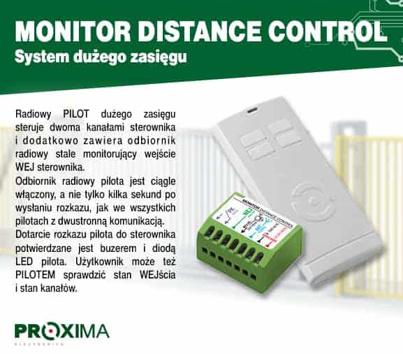 monitor distance control
